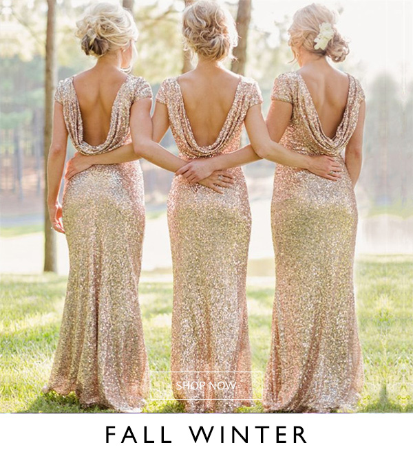 Fall/Winter Bridesmaid Dresses