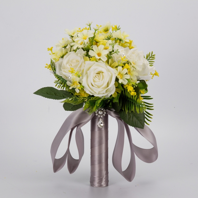 Multiple Artificial Flowers Online Bouquet for Wedding
