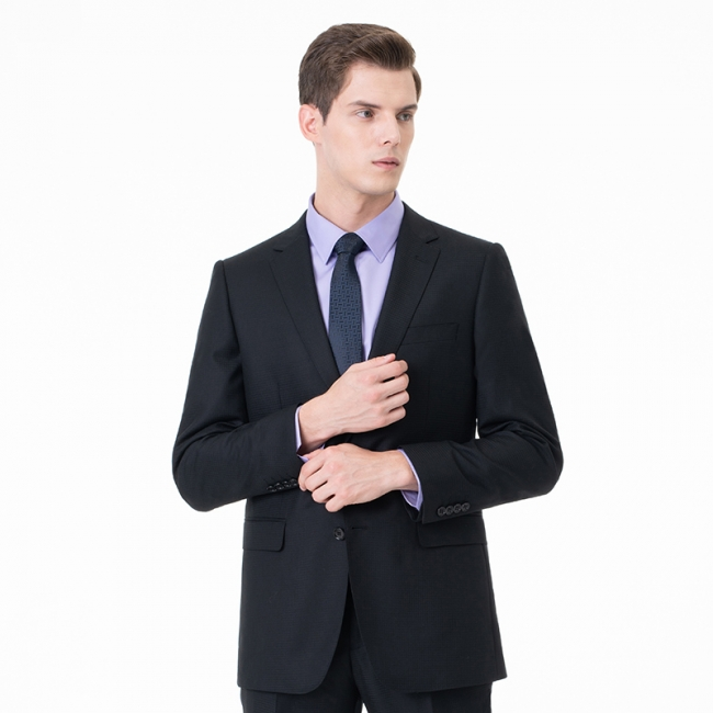 High Quality Two-piece Suit Single Breasted UK Wedding Suits
