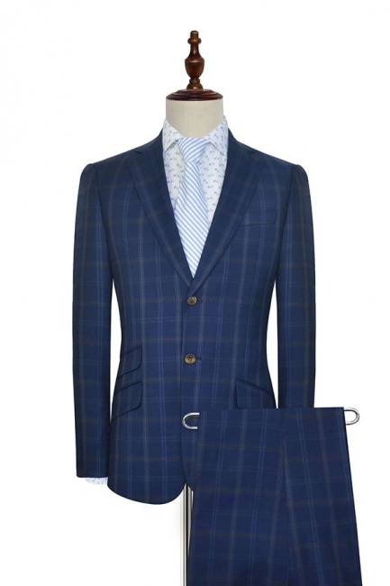 Dark Blue Wool Shawl Collar UK Wedding Suit For Bestman | New Arriving Single Breasted Tailor Made British Men Suit