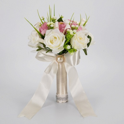 Multiple Artificial Flowers Online Bouquet for Wedding_3