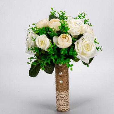 Multiple Artificial Flowers Online Bouquet for Wedding_7