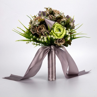 Multiple Artificial Flowers Online Bouquet for Wedding_5