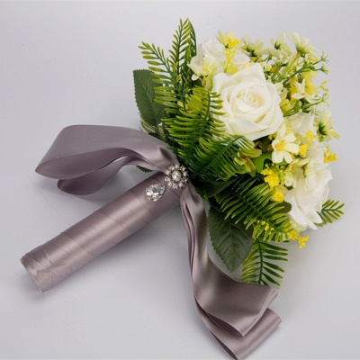 Multiple Artificial Flowers Online Bouquet for Wedding_9