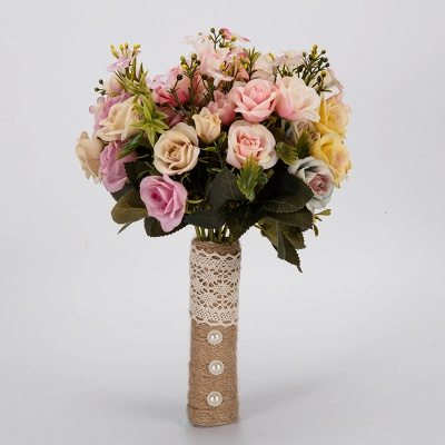 Multiple Artificial Flowers Online Bouquet for Wedding_6
