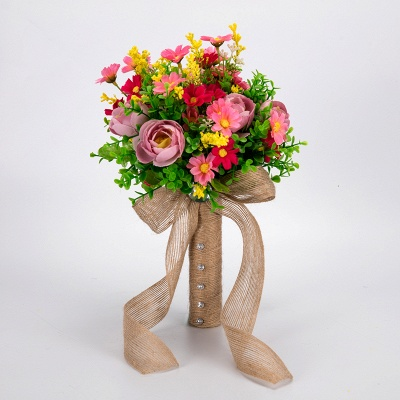 Multiple Artificial Flowers Online Bouquet for Wedding_1