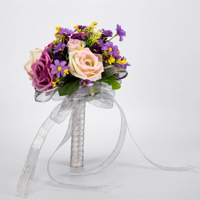 Multiple Artificial Flowers Online Bouquet for Wedding_4