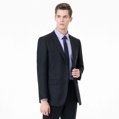 High Quality Two-piece Suit Single Breasted UK Wedding Suits_2