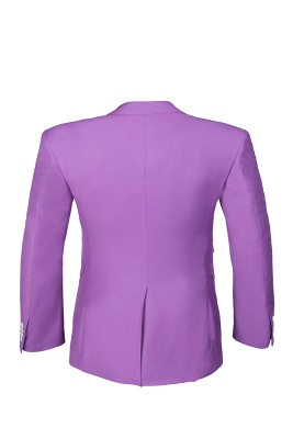 Latest Design High Quality Peak Lapel Single Breasted Two Button Lilac UK Wedding Suits_5
