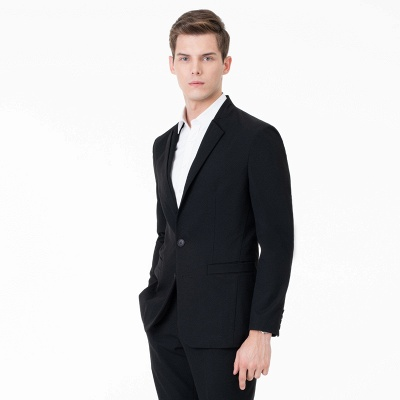 Two-piece Suit Peak Lapel Single Breasted Casual Suits UK_1