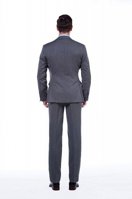 Single Breasted Notched Lapel Classic Suit | New Design 2 Pieces Two Button Slim Fit British Men Suits UK_4
