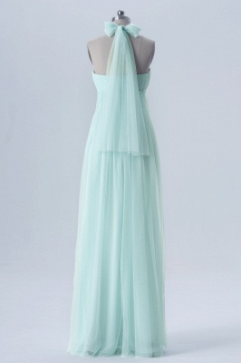 Fall Chiffon Multi Styles Floor Length Bridesmaid Dresses UK with Beading_9