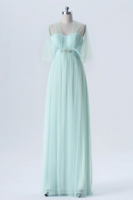 Fall Chiffon Multi Styles Floor Length Bridesmaid Dresses UK with Beading_7