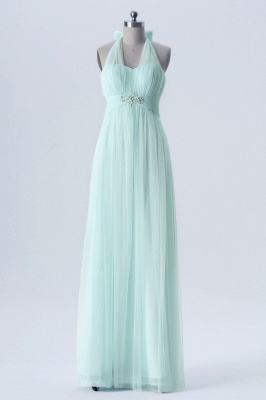 Fall Chiffon Multi Styles Floor Length Bridesmaid Dresses UK with Beading_3