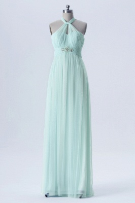 Fall Chiffon Multi Styles Floor Length Bridesmaid Dresses UK with Beading_5