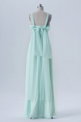 Fall Chiffon Multi Styles Floor Length Bridesmaid Dresses UK with Beading_8