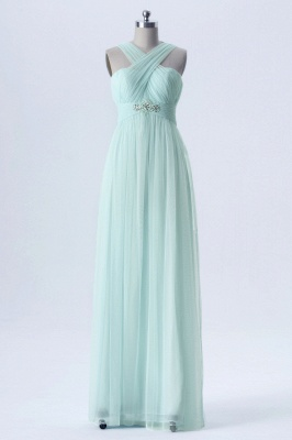 Fall Chiffon Multi Styles Floor Length Bridesmaid Dresses UK with Beading_4
